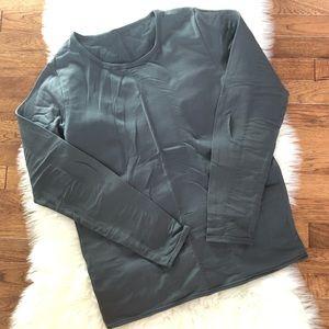 Long Sleeve Fleece lined top